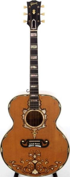 1952 Gibson SJ-200 Custom owned by the late Ray Price; the great country star....