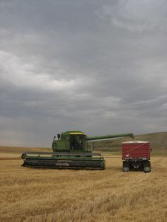 My grandfather and his best friend shared equipment and helped each other harvest their crops*rm