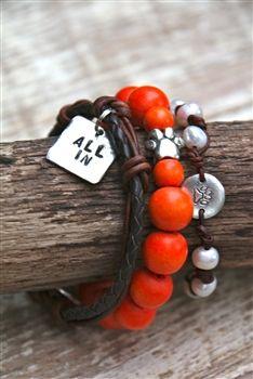 ALL IN Tiger Stack Bracelets.