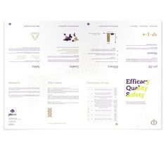 Philab Cosmetics Brochure by Chris Trivizas, via Behance