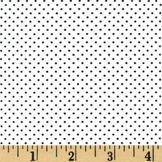 Paris Poplin Dot White from @fabricdotcom  This very lightweight cotton poplin fabric has an ultra smooth hand. It is perfect for shirts, dresses, skirts, blouses and more. Colors include black and white.