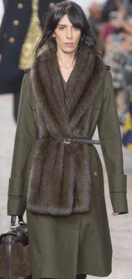Модное женское пальто Осень-Зима 2015/2016 - фото