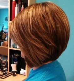Shaggy Short Bob Hairstyles 2015 Back View