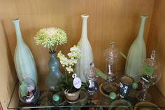 Gifts in Green! Pair your flowers with something from in store gift wear!