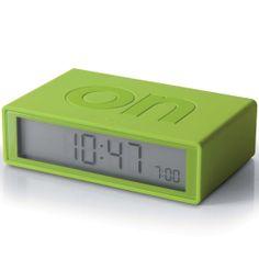 Reloj Lexon Flip Verde Lima Alarma y Snooze http://www.tutunca.es/reloj-lexon-flip-verde-lima-alarma-snooze