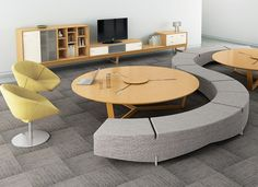 Configurable Office Furniture by Davis Furniture Davis Furniture, Library Furniture, Furniture Sets, Furniture Design, Office Furniture, Modular Furniture, Dream Home Design, Home Office Design, Modern House Design