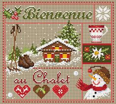 click here to view larger image of Bienvenue au Chalet (chart)