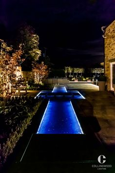 Collingwood Lighting | Garden lighting | Landscape design inspiration | This look was created using the Collingwood LEDSTRIP IP http://www.collingwoodlighting.com/en/products/strip-lights/item/ledstripip-uk