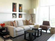 wohnideen wohnzimmer weiessofa panoramafenster gardinen wohnzimmer ideen pinterest - Home Interior Designideen Fr Kleine Rume
