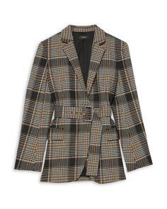 Black Blazers, Blazers For Women, Pants For Women, Clothes For Women, Blazer Outfits, Plaid Blazer, Blazer Suit, Pea Coats Women, Stretch Pants