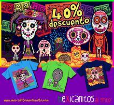 40% de descuento en Octubre en nuestra tienda online: www.mercaditomexicanito.com @Kichink! #kichink