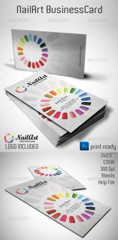 NailArt+Business+Card