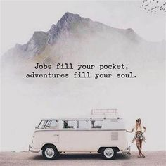 Jobs fill your pocket. Adventures fill your soul. #travelquotes Cheap hotels #TravelQuotes