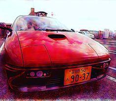 welcome back!  @ashleymiche FRP WORKs TRAP Dream Comes True Super Car's identity Retractables Headlights Gull Wing Mid Ship DOHC TURBO LWS #retractablesheadlights #maestro #dreamcomestrue #frpworkstrap #chibigull  #az1 #pg6sa #az660 #gullwing #eunos