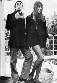 Paris legends, Serge Gainsbourg & Jane Birkin