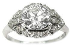 NYC estate engagement ring