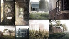 Peter Alison Smithson / Upper Lawn Pavilion 3D Recreation by Lasse Rode