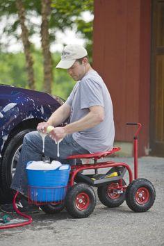 Tractor Scoot Rolling Garden Seat Gardener S Supply