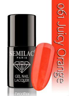 Semilac 061 Juicy Orange UV&LED Nagellack. Auch ohne Nagelstudio bis zu 3 WOCHEN perfekte Nägel!