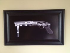 Shotgun CAT scan gun print - ready to frame. $59.95, via Etsy.