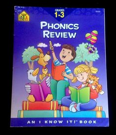 Phonics Review Grade 1-3 An I Know It Book 9780887437724