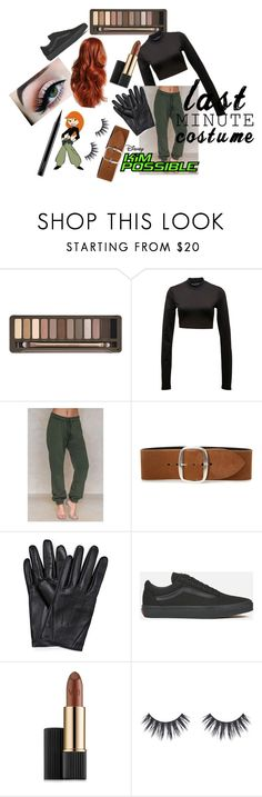 """""""Kim Possible last minute costume"""" by lstr ❤ liked on Polyvore featuring Urban Decay, Puma, NA-KD, Isabel Marant, Vans, Estée Lauder and MAC Cosmetics"""
