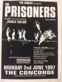 Reunion gig poster Power Pop, Family Presents, Gig Poster, Prison, The Originals, Memes, Music, Musica, Musik