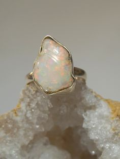 Ethiopian Opal Ring 7