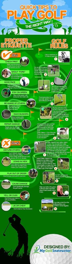 Golf Clubs - Quick Tips to Play Golf the Right Way