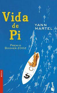 La vida de Pi, Yann Martel