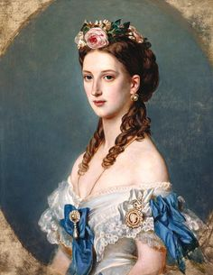 """Queen Alexandra (1844-1925), when Princess of Wales"", William Corden the Younger, 1864; Royal Collection Trust 403410"