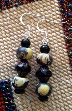 Chinese Turquoise dangles on Etsy, $30.00