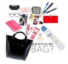 """""""What is in my bag?"""" by nurkovicselma ❤ liked on Polyvore featuring Wild & Wolf, Massimo Castelli, Polo Ralph Lauren, Mamonde, Fountain, Dove, Soap & Glory, Ted Baker, Maybelline and Bobbi Brown Cosmetics"""
