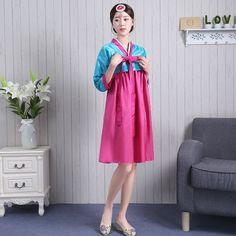 2016 hiver coréenne hanbok hanbok costume cour mariée coréenne danse folklorique costume vêtements traditionnels dans Vêtements asiatiques et des Îles du pacifique de Nouveauté et une utilisation particulière sur AliExpress.com | Alibaba Group