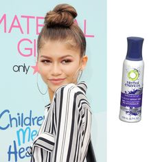 How to Perfect Hollywood's Top-Knot Trend in Minutes from InStyle.com