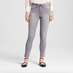 Women's Mid Rise Skinny Dion Gray