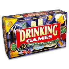50 different drinking games? Yeah, that should be enough.