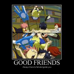 Good friends. #Fairy Tail