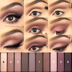 """""""Working on some requests--today's was for the @lorealmakeup La Palette Nude 2! This one has great pigmentation & I love the rosy tones. Smoky liner with a…"""""""