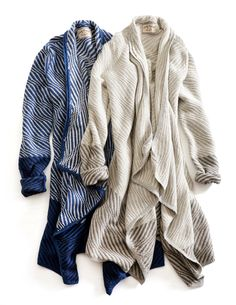 A drapey, loungey, soft, wear-everywhere cardigan just in time for the holidays.