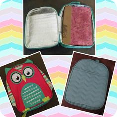 You have asked for a Bible bag to return!  Well here it is!  Our all new Chill-icous thermal will fit a standard size Bible carrier and double as a lunch box.  Select one our 4 cute animals for your child or a great print for yourself that is complete with a pocket to store your personal items.