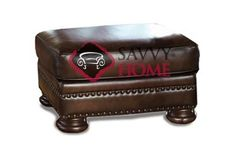 Foster Leather Ottoman by Bernhardt in 203-020 at Savvy Home. $599.00