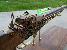 Steampunk Dueling Pistol by ~ShadowArcher80 on deviantART