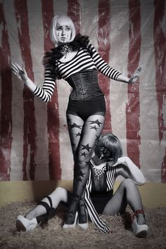 One from the Circus Bizarre Shoot :-) These guys were great, emailed me separately and out of 7 aerialists who just happened to email me, i picked these two to be mimes! AND THEN it turned out they...