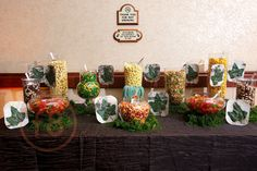 Embassy Suites Grapevine Prom; Enchanted Forest Prom Party; Forest Candy Buffet  significanteventsoftexas.com