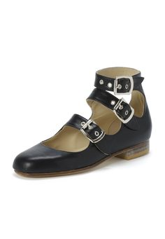 Vivienne Westwood Roman Three Straps Black OMG....they go up to a UK size 11!