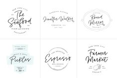 Ad: Pinot Handwritten Font & Logos by VladCristea on BUNDLE ALERT! - Pinot is now included in my Handwritten Font Bundle: --- Pinot is a unique, cool and modern handwritten font. It's hand look Best Logo Design, Branding Design, Graphic Design, Feminine Fonts, Handwritten Script Font, Serif Font, Font Packs, Cute Fonts, Happy Design