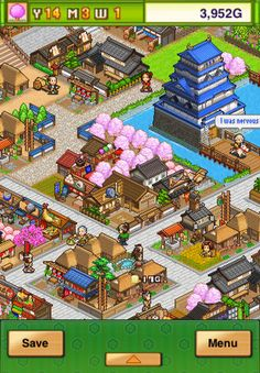 Plunge into the past for a rousing romp through Edo period Japan! Your ideal samurai town awaits you! Edo Period Japan, Clash Of Clans, Itunes, Pixel Art, A Team, Games, Android, Free, 8 Bit