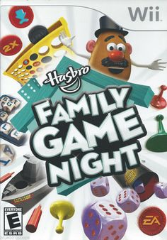 Hasbro Family Game Night  (Nintendo Wii) COMPLETE!!!
