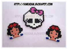 Snow White - Monster High - hama beads